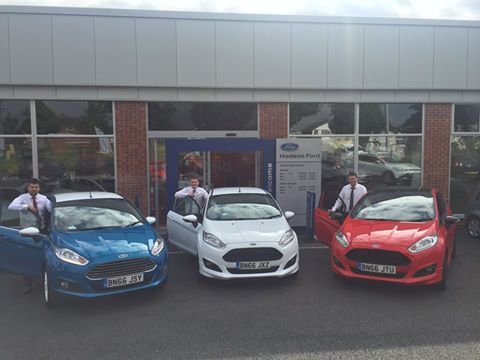 Hodson Ford 66 reg team